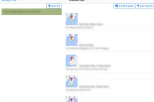 iOS-Simulator-MapList-Blur